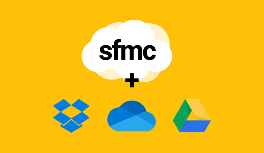 Develop faster for Marketing Cloud using One Drive, Google Drive and Dropbox